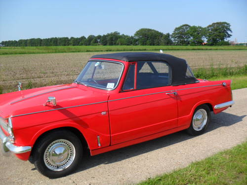 1969 Triumph Herald convertible 13/60 For Sale (picture 3 of 6)