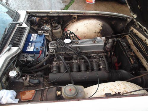 PROJECT TR6 1973 ORIGINAL FUEL INJECTED UK CAR WITH OVERDRIV SOLD (picture 3 of 5)