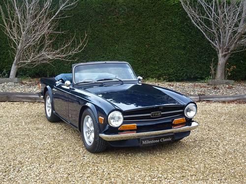 Triumph TR6 – Body-Off Restoration SOLD   Car And Classic