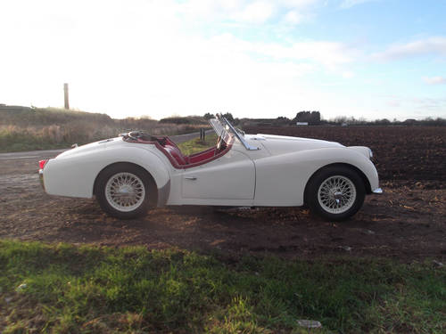 1961 TR3A WITH OVERDRIVE FOR SALE SOLD (picture 3 of 6)