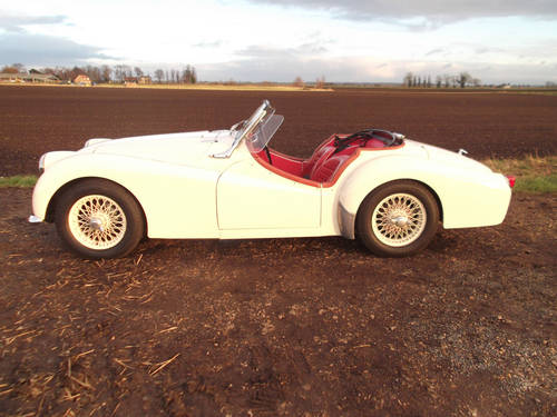1961 TR3A WITH OVERDRIVE FOR SALE SOLD (picture 4 of 6)