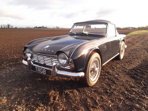 1962 TR4 FOR SALE SOLD (picture 1 of 6)