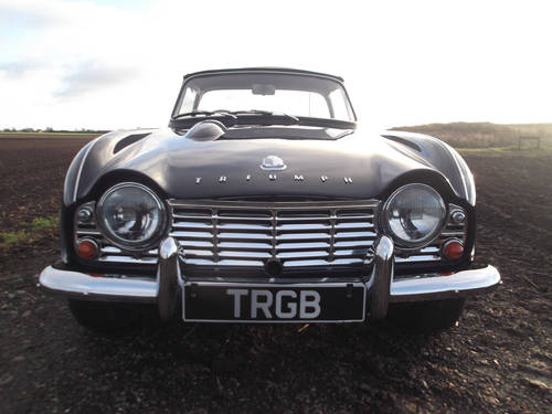 1962 TR4 FOR SALE SOLD (picture 6 of 6)