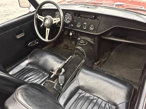 1972 Triumph - Spitfire 1300 MKIV PERFECT CONDITIONS For Sale (picture 4 of 6)
