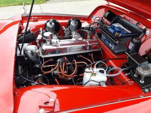 TRIUMPH TR3A RED 1961            XXXXX   SOLD  XXXXXX SOLD (picture 5 of 6)