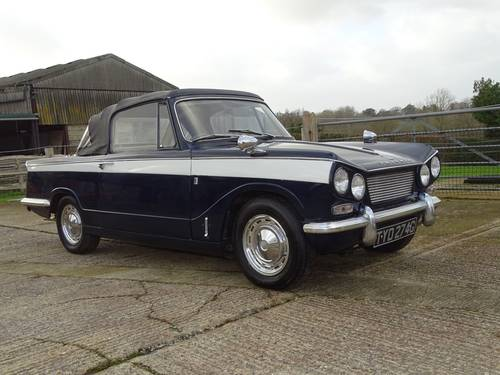 1968 Superb Triumph Vitesse Mk1 2.0 Convertible with O/D SOLD (picture 1 of 6)