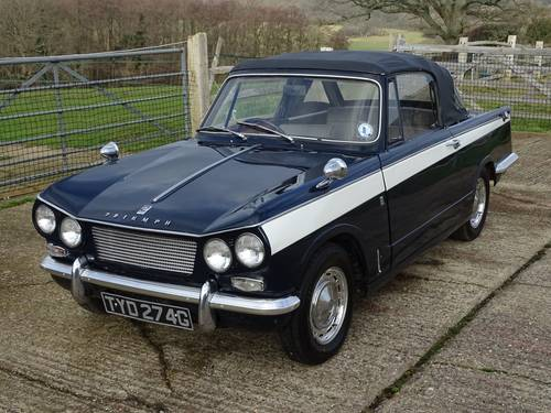 1968 Superb Triumph Vitesse Mk1 2.0 Convertible with O/D SOLD (picture 3 of 6)