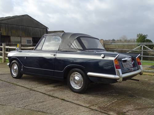 1968 Superb Triumph Vitesse Mk1 2.0 Convertible with O/D SOLD (picture 4 of 6)