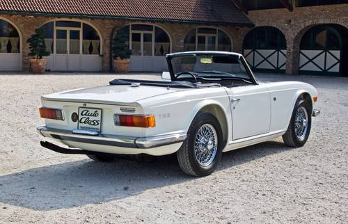 1969 Triumph TR6  For Sale (picture 3 of 6)