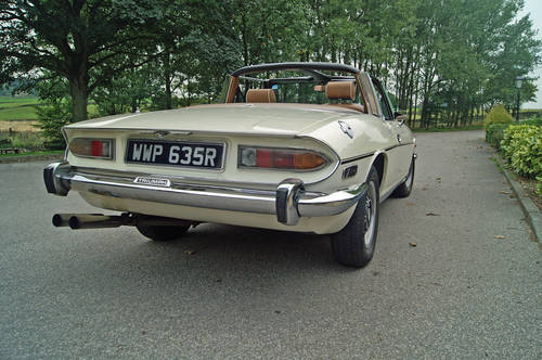 Triumph Stag Hire Yorkshire | Rent a Stag For Hire (picture 2 of 5)