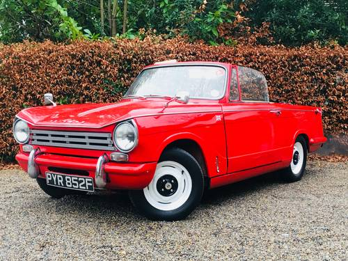 1968 HERALD 13/60 CONVERTIBLE - WINTER VALUE!  SOLD (picture 1 of 6)