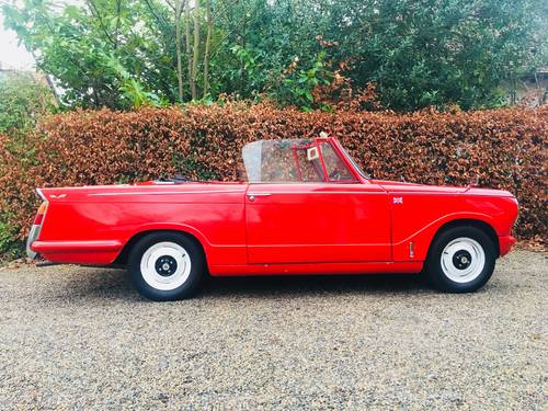 1968 HERALD 13/60 CONVERTIBLE - WINTER VALUE!  SOLD (picture 3 of 6)