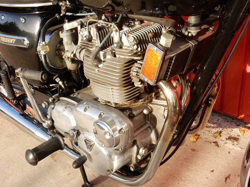 TRIUMPH TRIDENT T150V 1974 741cc MATCHING NUMBERS MOT'd 10/1 For Sale (picture 4 of 6)