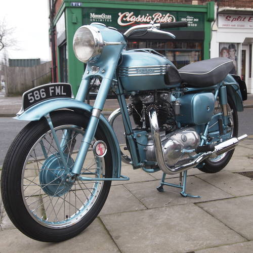 1955 Triumph 6T Thunderbird 650 Matching Numbers. SOLD (picture 1 of 6)