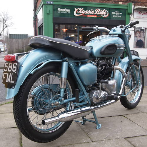 1955 Triumph 6T Thunderbird 650 Matching Numbers. SOLD (picture 4 of 6)