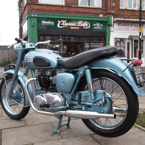 1955 Triumph 6T Thunderbird 650 Matching Numbers. SOLD (picture 6 of 6)
