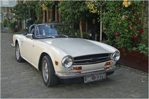 Triumph TR6 Hire Yorkshire | Hire a TR6 For Hire (picture 1 of 4)