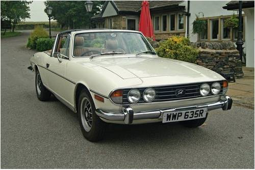 Triumph Stag Hire Yorkshire | Rent a Stag For Hire (picture 1 of 5)