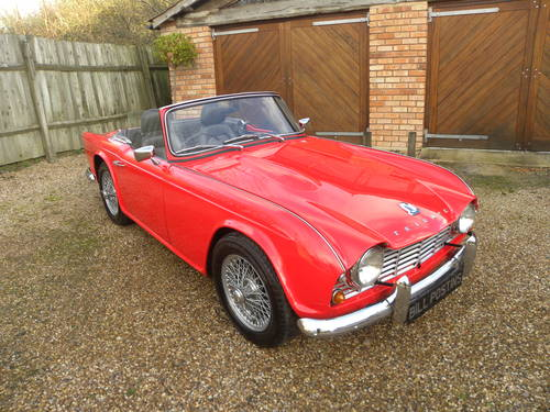 1962 TRIUMPH TR4. 21,000 since total rebuild SOLD (picture 1 of 6)