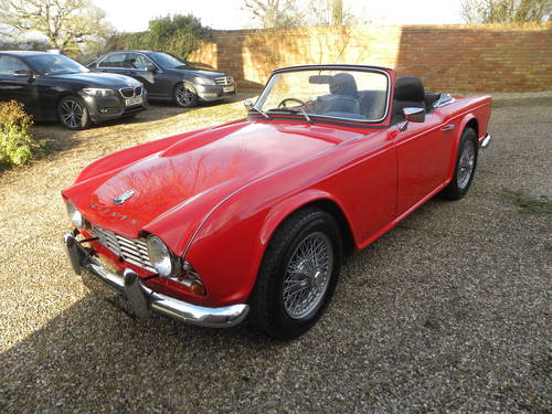 1962 TRIUMPH TR4. 21,000 since total rebuild SOLD (picture 2 of 6)