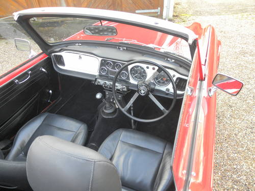 1962 TRIUMPH TR4. 21,000 since total rebuild SOLD (picture 4 of 6)