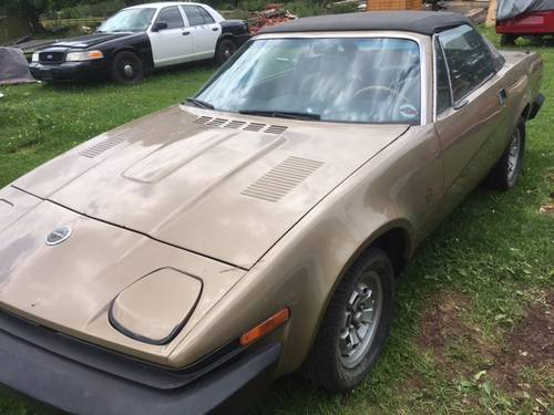 1980 Triumph TR8 Factory Covertible LHD  SOLD (picture 2 of 6)