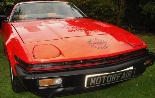 1980 TRIUMPH TR7 CONVERTIBLE,1 OWNER,CONCOURS WINNER, For Sale (picture 1 of 6)