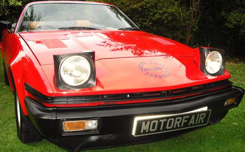 1980 TRIUMPH TR7 CONVERTIBLE,1 OWNER,CONCOURS WINNER, For Sale (picture 2 of 6)