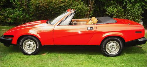 1980 TRIUMPH TR7 CONVERTIBLE,1 OWNER,CONCOURS WINNER, For Sale (picture 3 of 6)