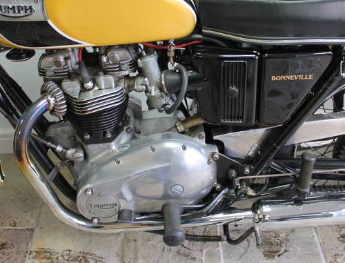 1971 Triumph Bonneville T120 650 cc OIF  Matching Numbers SOLD (picture 5 of 6)