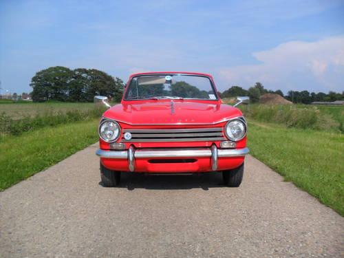 1969 Triumph Herald convertible 13/60 For Sale (picture 1 of 6)