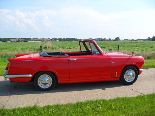 1969 Triumph Herald convertible 13/60 For Sale (picture 5 of 6)