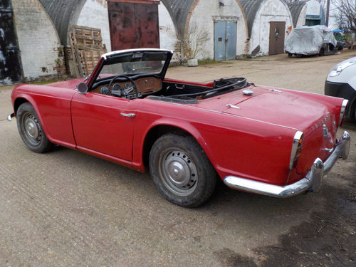 1964 LHD TRIUMPH TR4 PROJECT SOLD (picture 3 of 6)