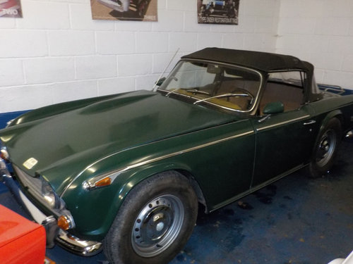 1968 TRIUMPH TR250 ROLLING PROJECT SOLD (picture 1 of 4)