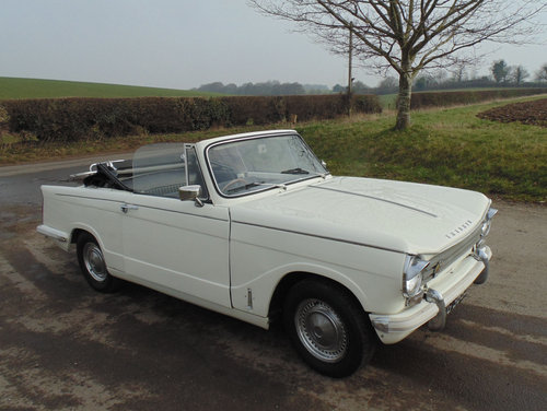 1971 Triumph Herald 13/60 Convertible SOLD (picture 2 of 6)