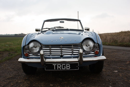 TR4 1964 LIGHT BLUE WITH OVERDRIVE SOLD (picture 6 of 6)