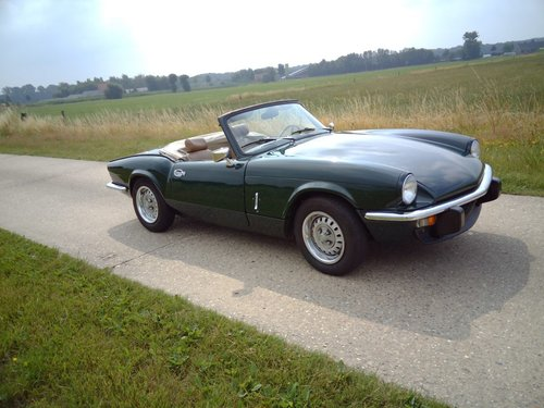 1975 Triumph Spitfire 1500 '75  SOLD (picture 2 of 6)