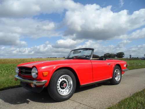 1974 Triumph TR6 '74 SOLD (picture 1 of 6)