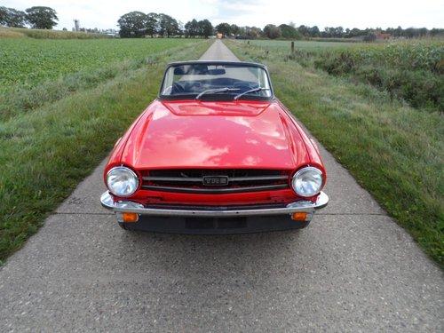 1974 Triumph TR6 '74 SOLD (picture 2 of 6)