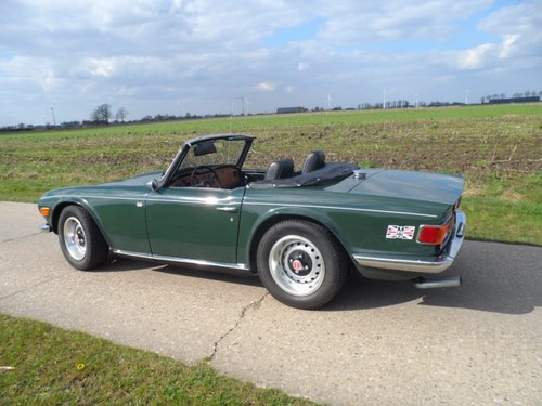 1970 Triumph TR6 BRG '71 SOLD (picture 5 of 6)