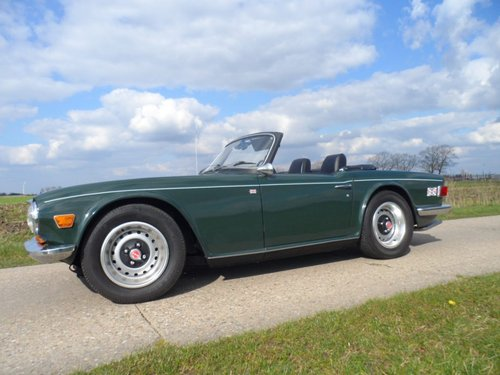 1970 Triumph TR6 BRG '71 SOLD (picture 6 of 6)