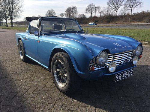 1963 Triumph TR 4  € 27.900 For Sale (picture 6 of 6)
