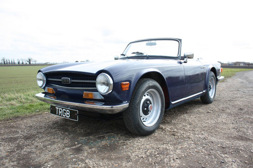 1973 TR6 PROJECT SOLD (picture 1 of 6)