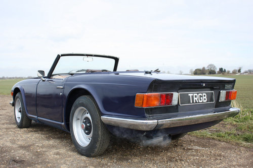 1973 TR6 PROJECT SOLD (picture 5 of 6)