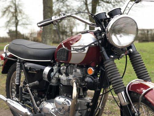 Triumph T120R Bonny 650cc 1970 SOLD (picture 3 of 6)