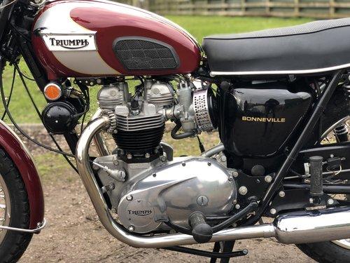 Triumph T120R Bonny 650cc 1970 SOLD (picture 5 of 6)