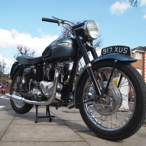 1958 T110 Tiger 650 Classic. RESERVED FOR VINCE. SOLD (picture 1 of 5)