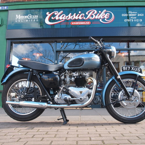 1958 T110 Tiger 650 Classic. RESERVED FOR VINCE. SOLD (picture 4 of 5)