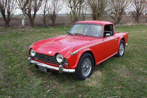 TR5 1968 ORIGINAL UK GENUINE RHD TR5 SOLD (picture 1 of 6)
