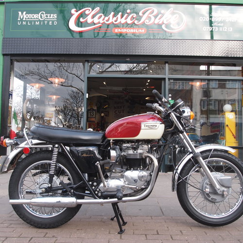 1972 T120 650cc Genuine UK Bike. SOLD TO ANDREW. SOLD (picture 1 of 6)